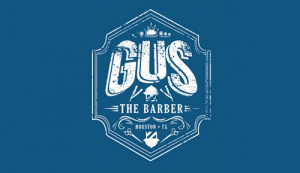 Gus the barber Logo