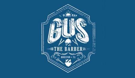Gus the barber Logo